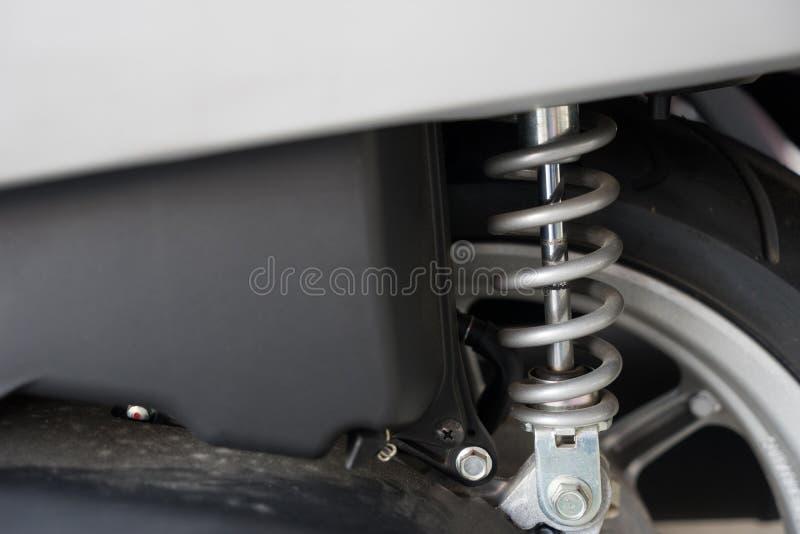 Μοτοσικλέτα του απορροφητή κλονισμού στοκ φωτογραφίες με δικαίωμα ελεύθερης χρήσης