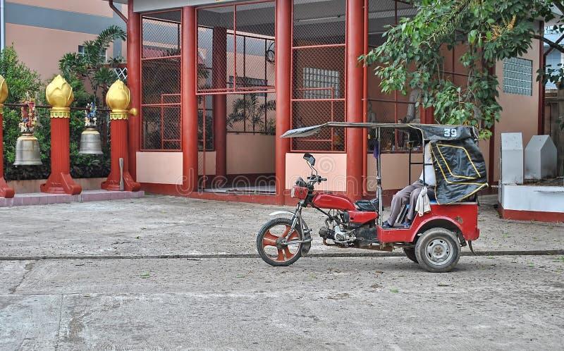 Μοτοσικλέτα τριών ροδών στοκ φωτογραφία με δικαίωμα ελεύθερης χρήσης