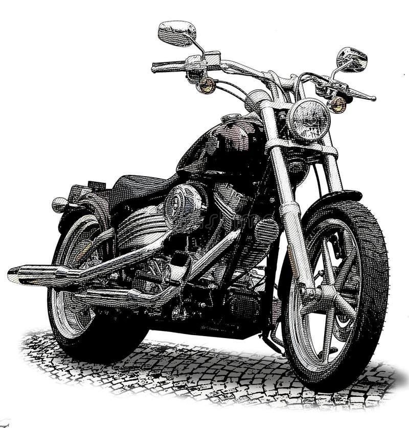 Μοτοσικλέτα ελεύθερη απεικόνιση δικαιώματος