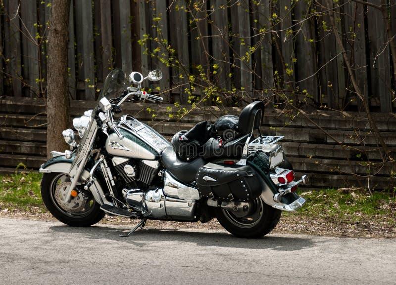 Μοτοσικλέτα Suzuki στοκ εικόνα