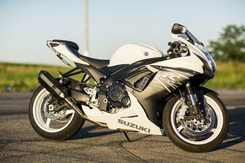 Μοτοσικλέτα Suzuki gsx-R600 στοκ εικόνες με δικαίωμα ελεύθερης χρήσης