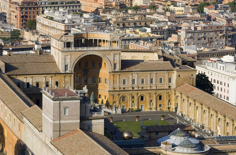 μουσεία Ρώμη vaticans στοκ φωτογραφία