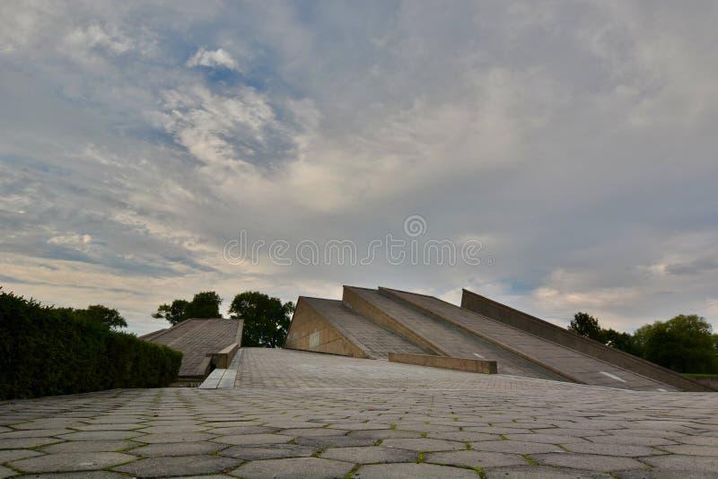 μουσείο Ένατο οχυρό kaunas Λιθουανία στοκ εικόνες