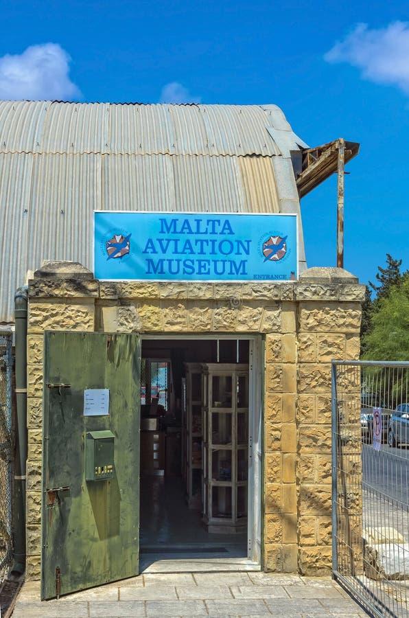Μουσείο αεροπορίας της Μάλτας στοκ φωτογραφία με δικαίωμα ελεύθερης χρήσης