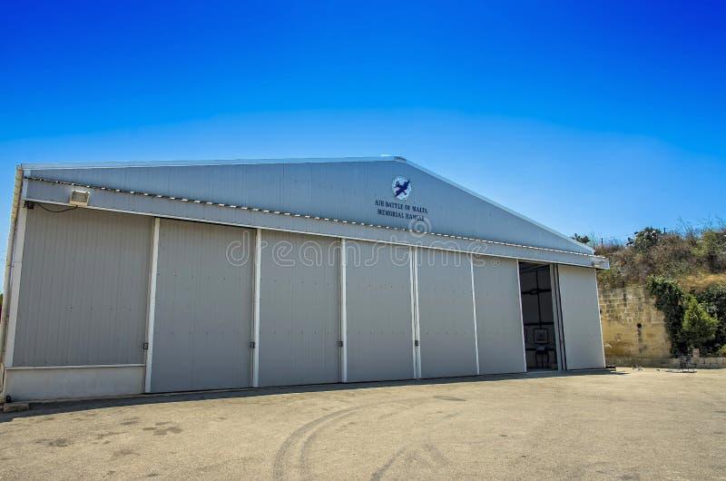 Μουσείο αεροπορίας της Μάλτας στοκ εικόνες