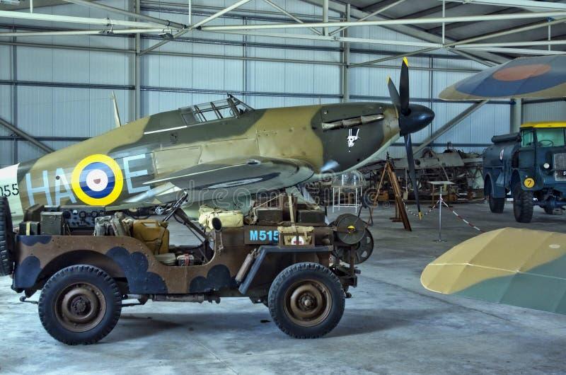 Μουσείο αεροπορίας της Μάλτας στοκ εικόνα με δικαίωμα ελεύθερης χρήσης