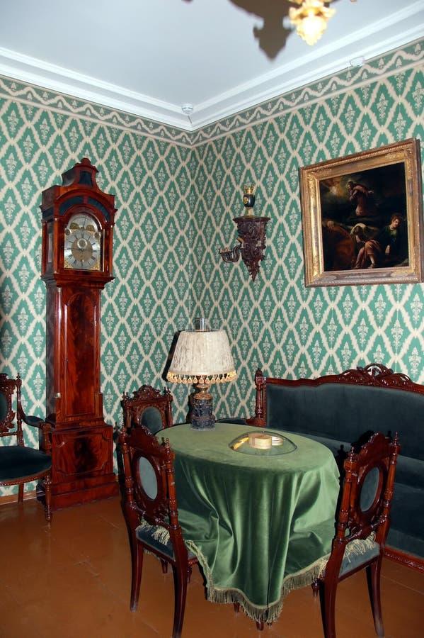 Μουσείο - αναμνηστικό επίπεδο του συγγραφέα Fyodor Dostoevsky σπουδαίου Ρώσου στοκ εικόνες