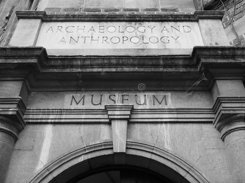 Μουσείο αρχαιολογίας και ανθρωπολογίας στο Καίμπριτζ σε γραπτό στοκ φωτογραφία με δικαίωμα ελεύθερης χρήσης