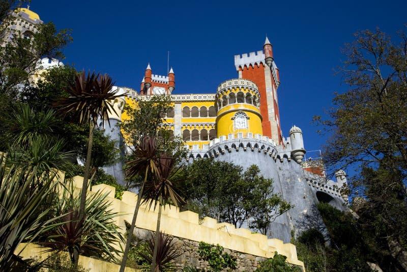 Μουσείο αρχιτεκτονικού μνημείου για το κάστρο της Πορτογαλίας στοκ εικόνα