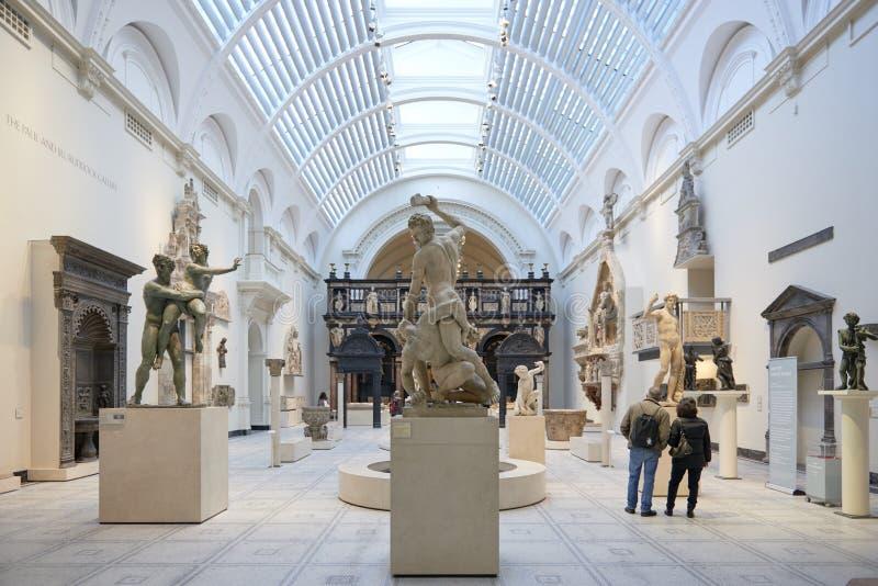 μουσείο Βικτώρια Αλβέρτ&omic στοκ φωτογραφίες με δικαίωμα ελεύθερης χρήσης