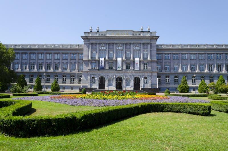 Μουσείο Ζάγκρεμπ Κροατία Mimara στοκ εικόνες