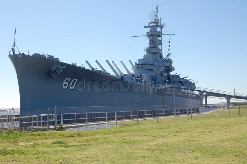 Μουσείο θωρηκτών USS Αλαμπάμα στοκ εικόνες