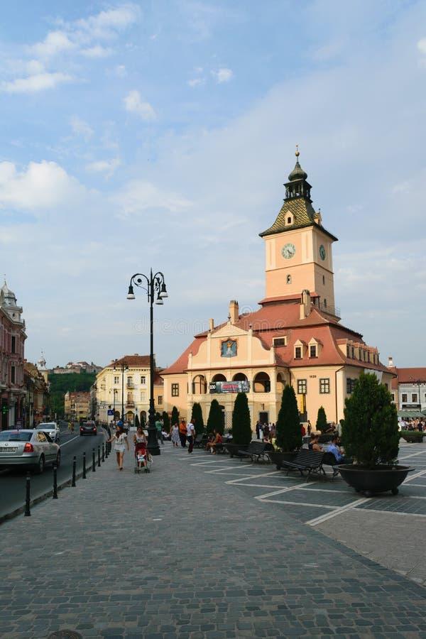 Μουσείο ιστορίας σε Brasov, Τρανσυλβανία, Ρουμανία στοκ εικόνα με δικαίωμα ελεύθερης χρήσης
