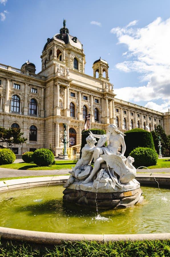 Μουσείο ιστορίας τέχνης στη Βιέννη Αυστρία στοκ φωτογραφίες