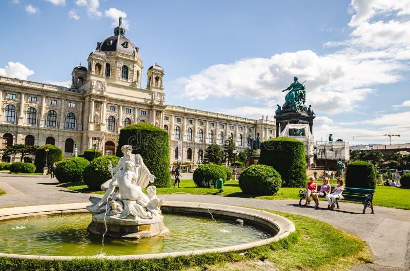 Μουσείο ιστορίας τέχνης στη Βιέννη Αυστρία στοκ φωτογραφία με δικαίωμα ελεύθερης χρήσης