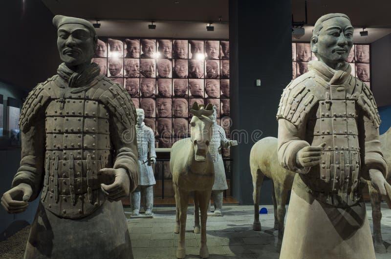 Μουσείο ιστορίας Shaanxi στοκ φωτογραφία