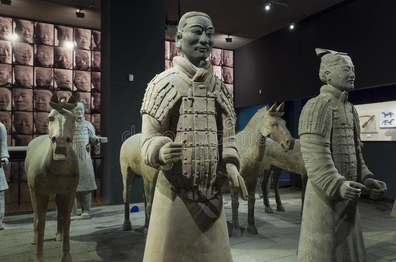 Μουσείο ιστορίας Shaanxi στοκ φωτογραφία με δικαίωμα ελεύθερης χρήσης