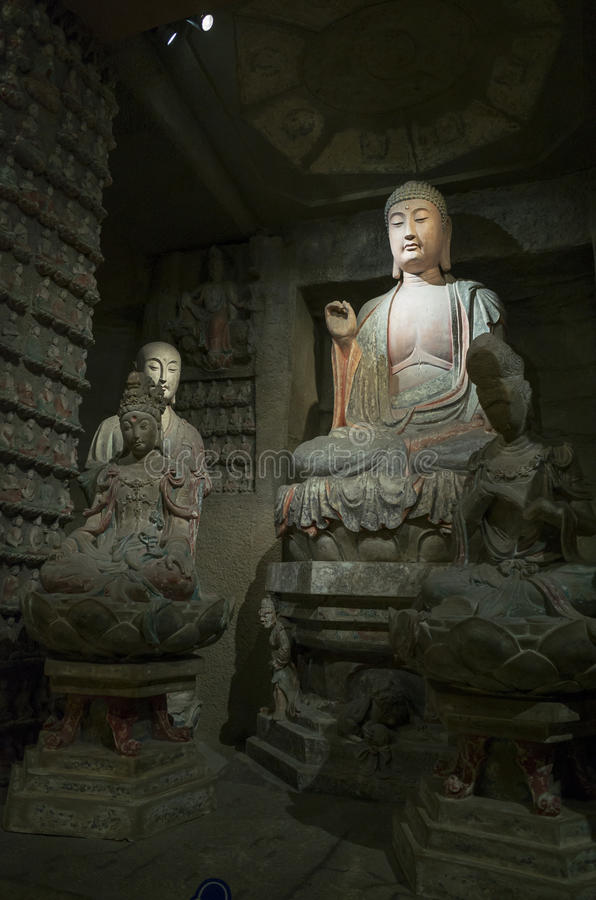Μουσείο ιστορίας Shaanxi στοκ εικόνες με δικαίωμα ελεύθερης χρήσης