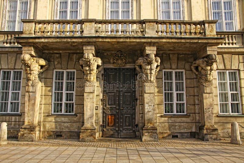 μουσείο πανεπιστημιακή Βαρσοβία στοκ εικόνες