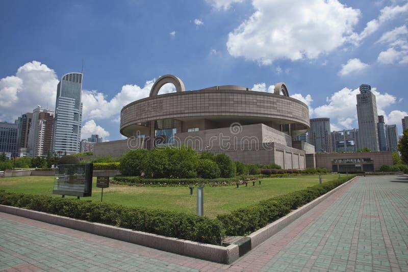 μουσείο Σαγγάη στοκ φωτογραφίες