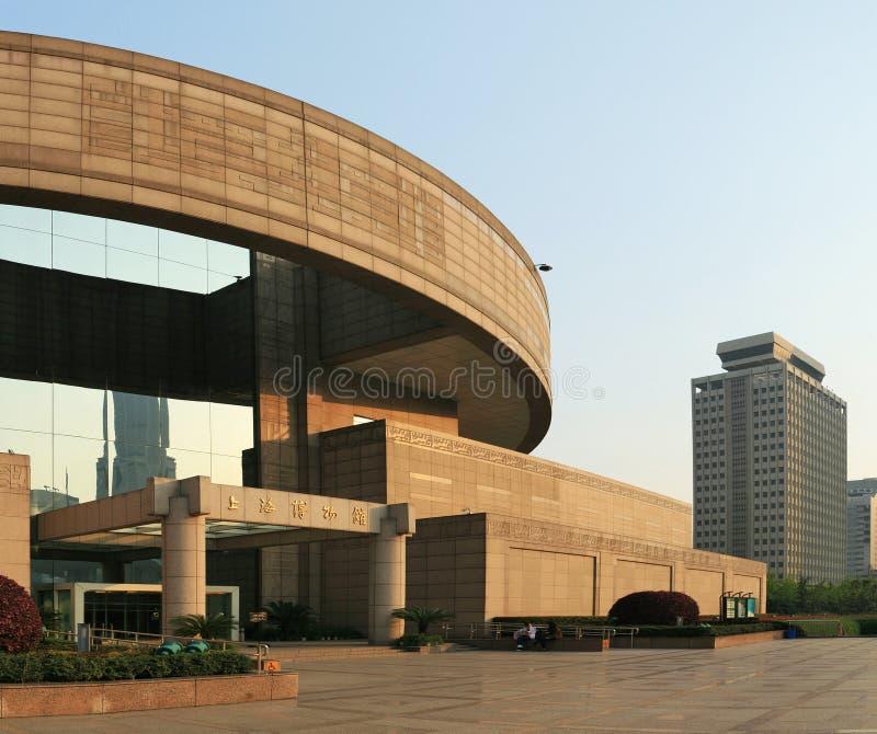 μουσείο Σαγγάη στοκ φωτογραφία