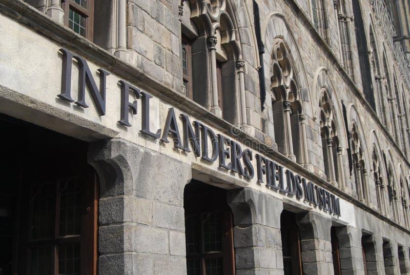 Μουσείο σε Ypres στοκ φωτογραφία με δικαίωμα ελεύθερης χρήσης