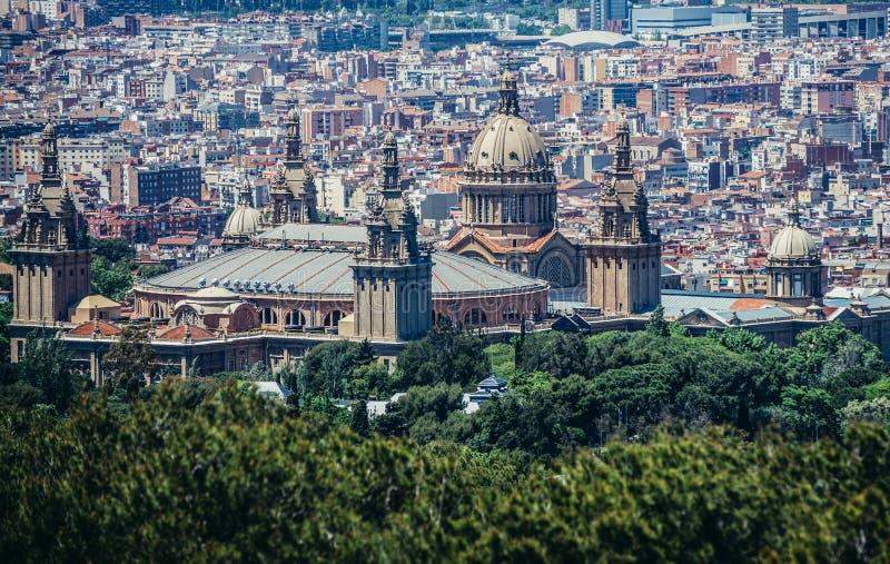 Μουσείο στη Βαρκελώνη στοκ εικόνα με δικαίωμα ελεύθερης χρήσης