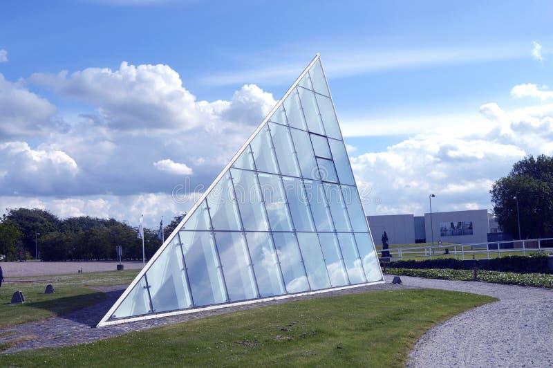 Μουσείο στο birk-Herning, Δανία στοκ εικόνα