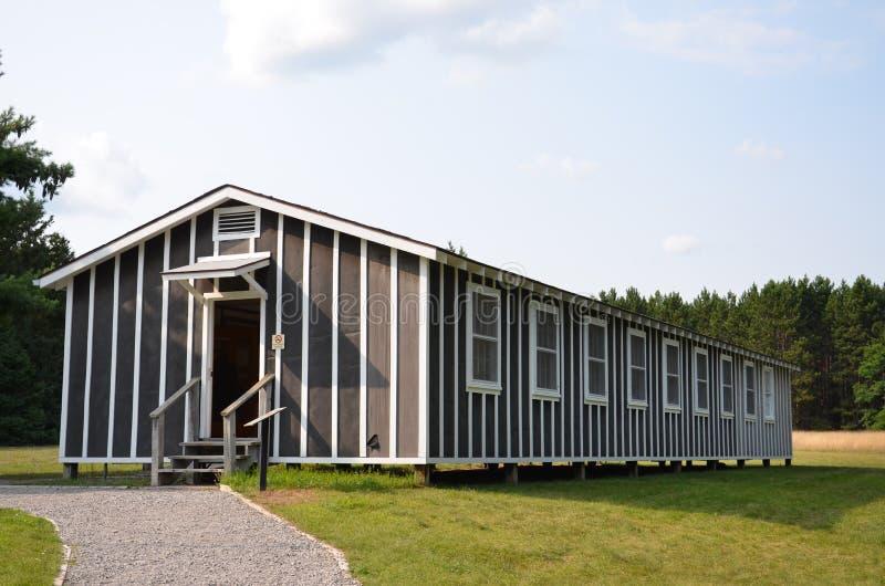Μουσείο Συμβούλιο Πολιτιστικής Συνεργασίας dorm, Μίτσιγκαν στοκ εικόνες με δικαίωμα ελεύθερης χρήσης