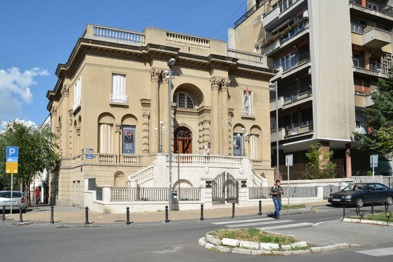 Μουσείο τέσλα της Nikola, Βελιγράδι, Σερβία στοκ φωτογραφίες