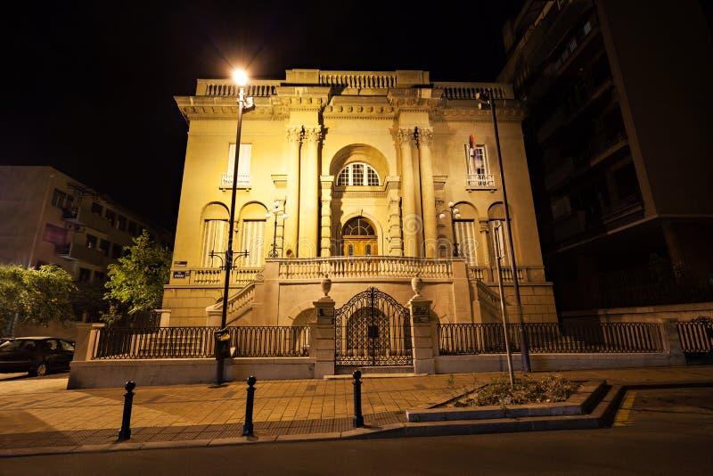 Μουσείο τέσλα της Nikola στοκ φωτογραφία