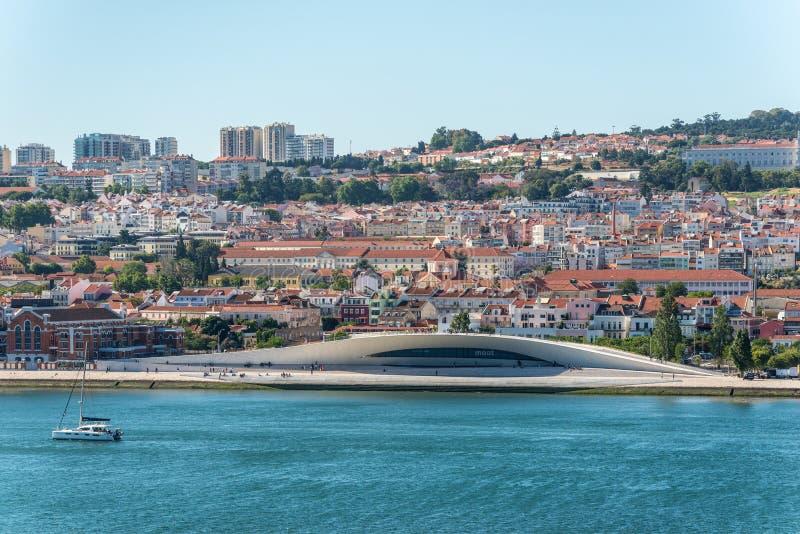 Μουσείο Τέχνης, αρχιτεκτονική και τεχνολογία στη Λισσαβώνα, Πορτογαλία στοκ εικόνες