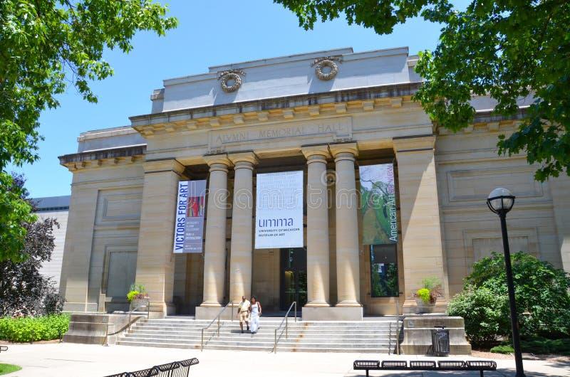 Μουσείο Τέχνης Πανεπιστήμιο του Michigan στοκ εικόνες