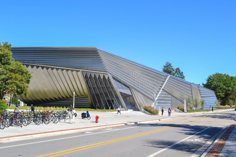 Μουσείο Τέχνης στη πανεπιστημιούπολη Πολιτεία του Michigan στοκ εικόνα