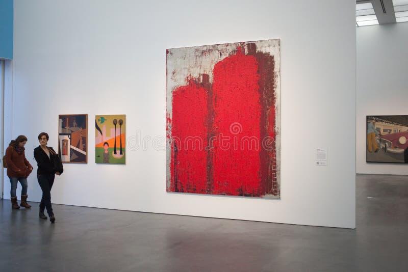 Μουσείο Τέχνης του Σικάγου στοκ εικόνες