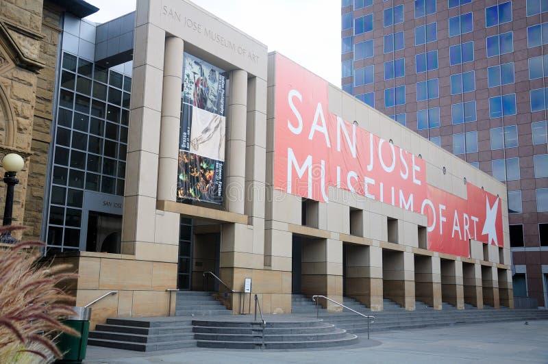Μουσείο Τέχνης του San Jose στοκ εικόνες με δικαίωμα ελεύθερης χρήσης