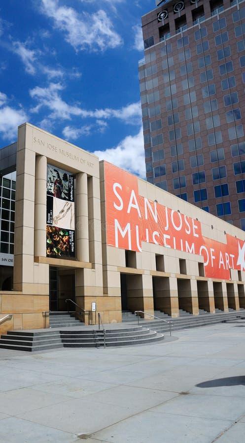 Μουσείο Τέχνης του San Jose στοκ εικόνα