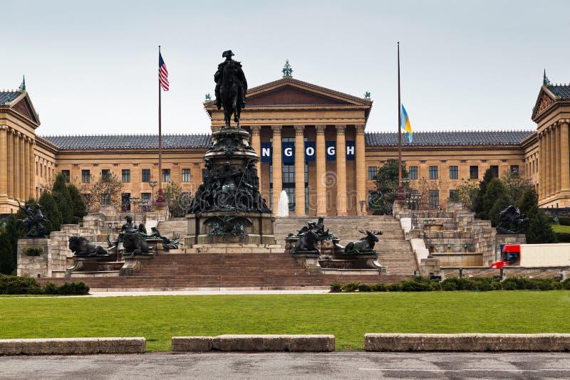 Μουσείο Τέχνης Φιλαδέλφεια στοκ εικόνα