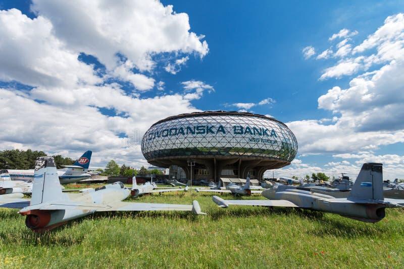 Μουσείο της αεροπορίας στοκ φωτογραφία με δικαίωμα ελεύθερης χρήσης