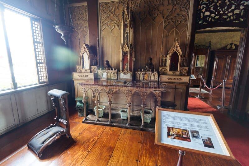 Μουσείο της Μανίλα Casa στη Μανίλα Φιλιππίνες στοκ εικόνα