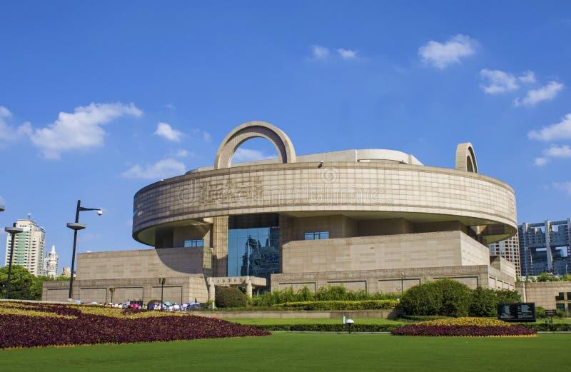 Μουσείο της Σαγγάης στοκ εικόνες με δικαίωμα ελεύθερης χρήσης