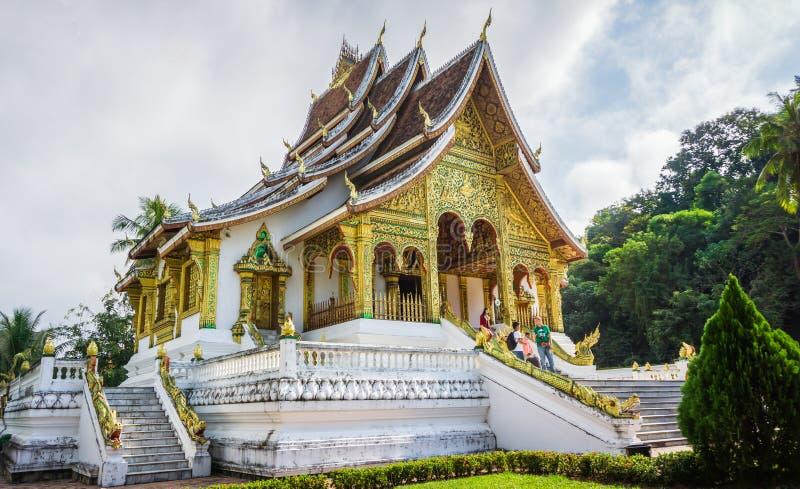 Μουσείο της Royal Palace της πόλης Luang Prabang στο Λάος το μουσείο της Royal Palace στοκ φωτογραφία με δικαίωμα ελεύθερης χρήσης