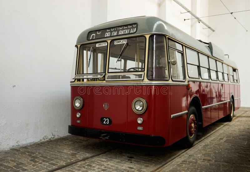 Μουσείο του ηλεκτρικού αυτοκινήτου στο Πόρτο στοκ εικόνες