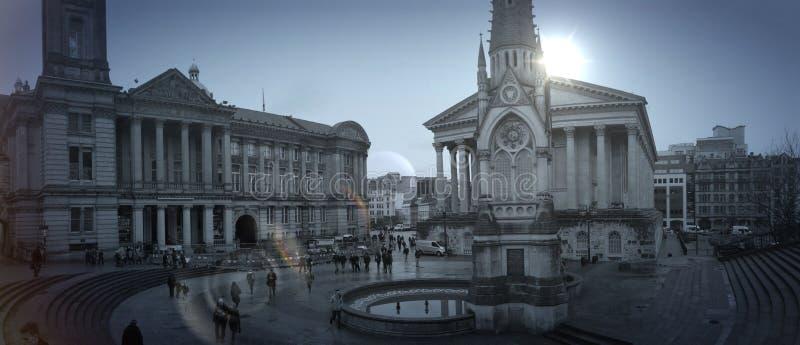 Μουσείο του Μπέρμιγχαμ Plaza στοκ εικόνες