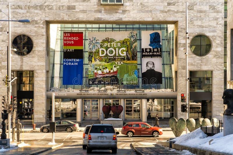 Μουσείο του Μόντρεαλ των Καλών Τεχνών στοκ φωτογραφίες