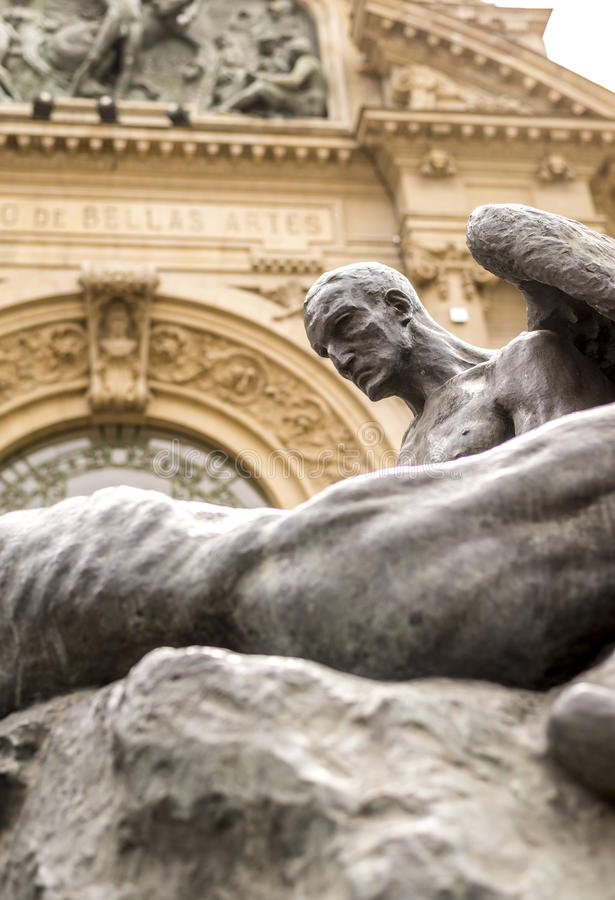 Μουσείο του Σαντιάγο στοκ φωτογραφία