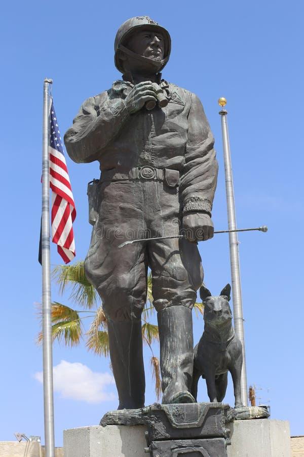 Μουσείο του George S Patton σε Καλιφόρνια στοκ εικόνες