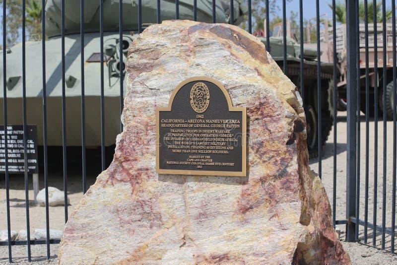 Μουσείο του George S Patton σε Καλιφόρνια στοκ εικόνα με δικαίωμα ελεύθερης χρήσης