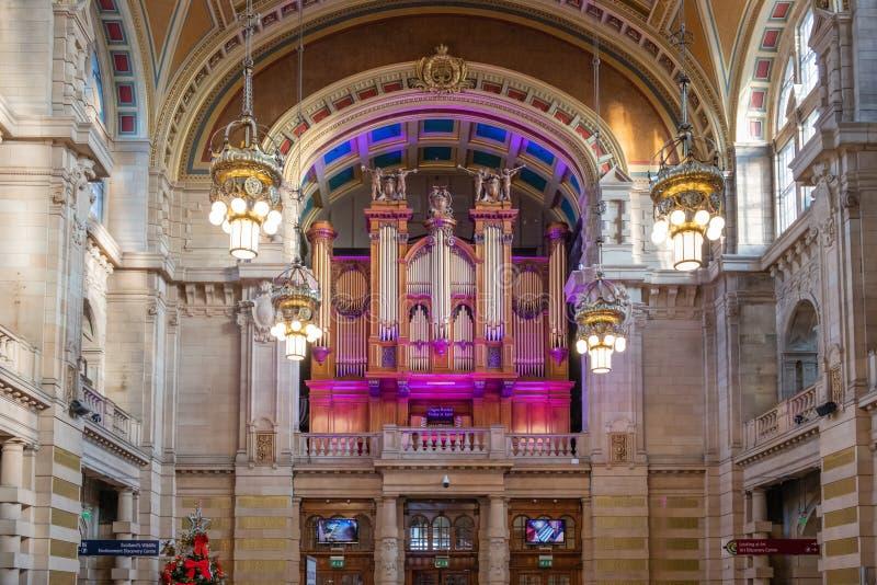 Μουσείο & το μεγάλο όργανο Γλασκώβη Σκωτία Kelvingrove στοκ εικόνες