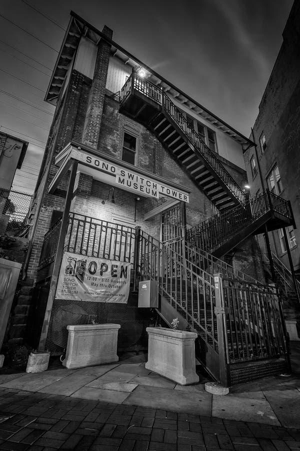 Μουσείο τραίνων τηλεχειριστηρίων στοκ εικόνες